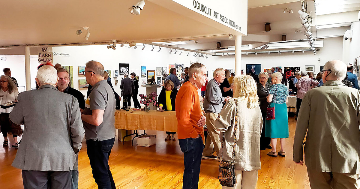 PHOTOS: Gala Reception for 2019 Opening Exhibitions at Barn Gallery